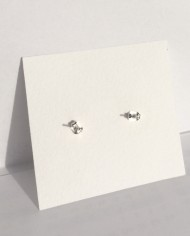 Silberne Ohrstecker – nickelfrei