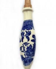 Griffe aus Keramik mit mediterranem Motiv